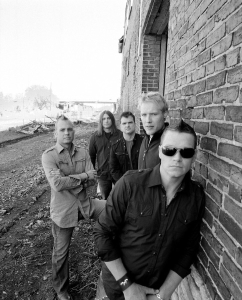 3 Doors Down Group&nbsp;Against Wall