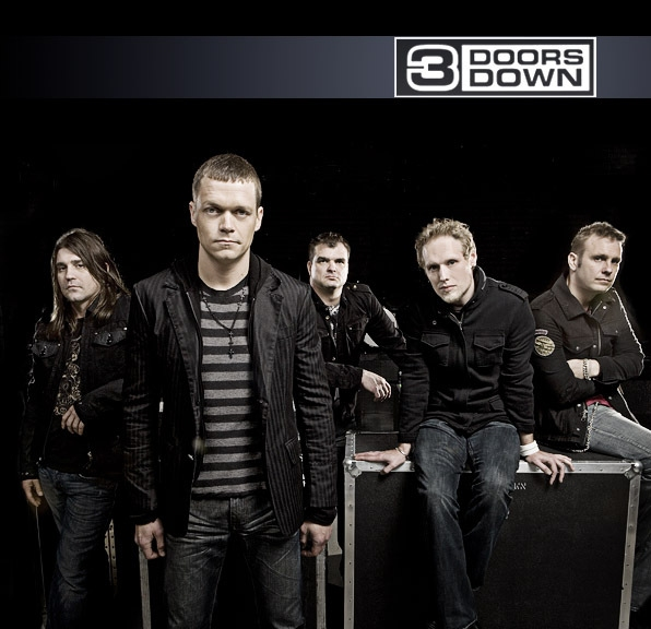 3 Doors Down Group Chillin