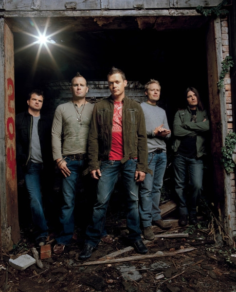 3 Doors Down Group Standing