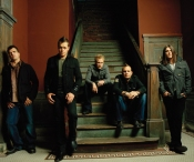 3 Doors Down Grouop On Stairs