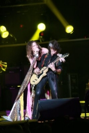 Aerosmith Steven Tyler With Joe Perry