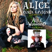 Avril Lavigne Alice In Wonderland