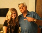 Avril Lavigne With Jay Leno