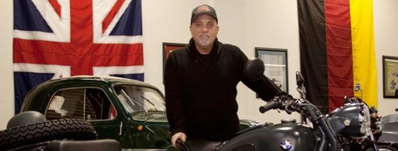 Billy Joel With a Motorcycle