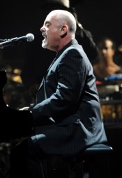 Billy Joel Singing Hard