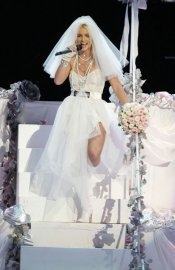 Britney Spears In a Wedding Gown
