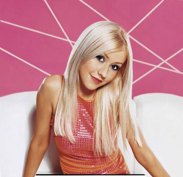 Christina Aguilera Looking Innocent