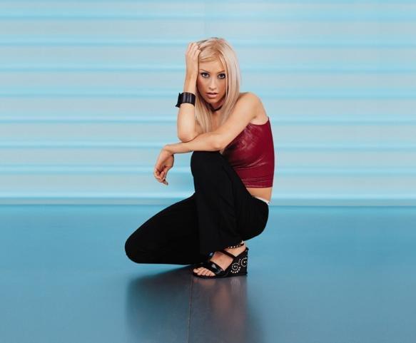 Christina Aguilera Posing ForCamera