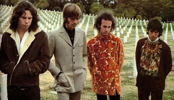 The Doors Band At Cemetary