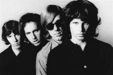 The Doors Group Black and White