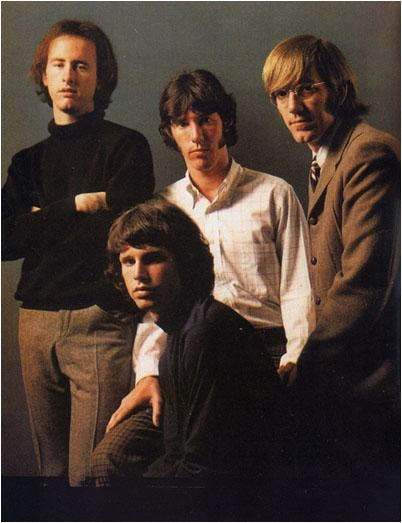 The Doors Group Posing