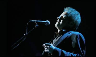 Don Henley Singing Live Leaning Back