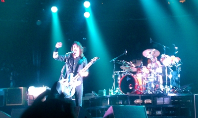 Dave Grohl On Stage at Madison Square Garden