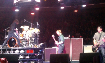 FooFighters Rocking Out at Madison Square Garden