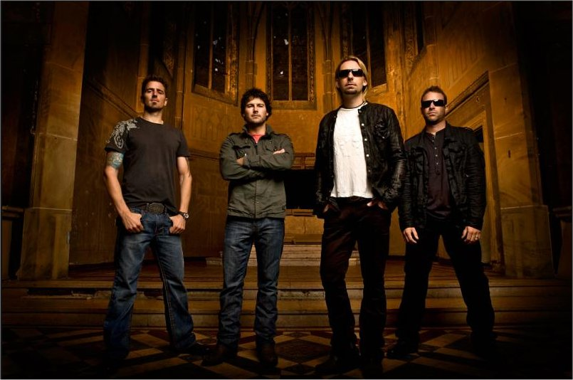 Chad Kroeger Ryan Peake Mike Kroeger and Daniel Adair Chillin