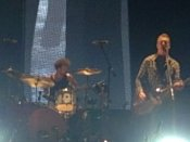 Josh Homme Strumming With Jon Theodore Drumming