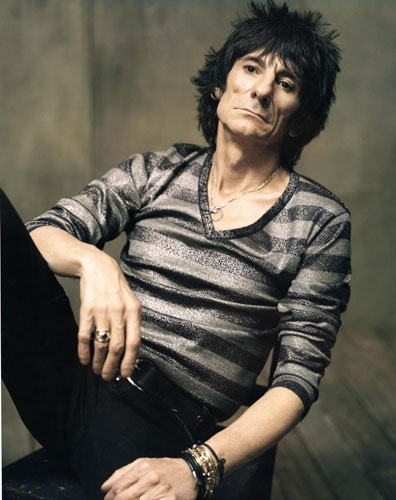 Rolling Stones Ronnie Wood Chillin