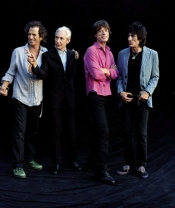 Rolling Stones Band Standing