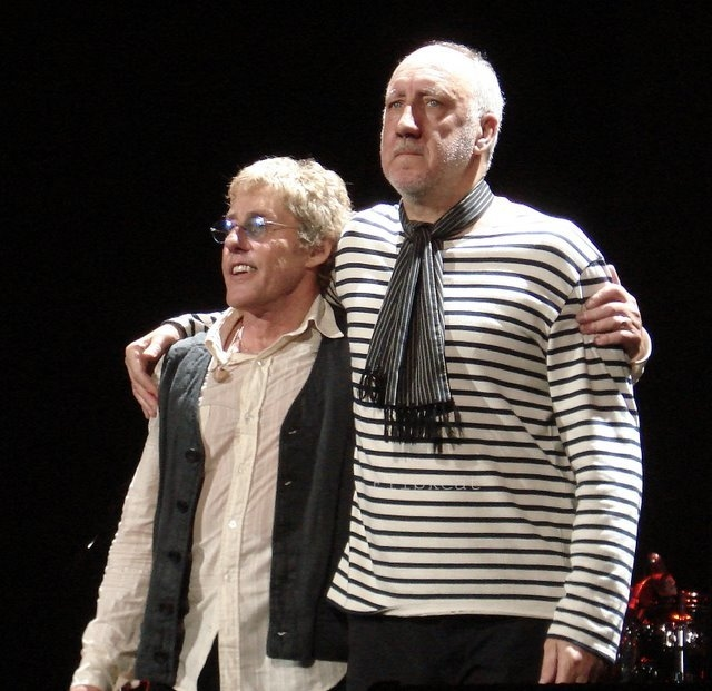 The Who Roger Daltry and Pete Townshend
