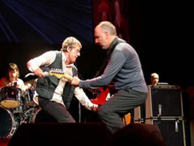 The Who Roger Daltrey and Pete Townshend On Tour